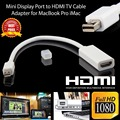 New Arrival Mini Audio Cable Displayport DP To HDMI Adapter For MacBook Pro Air Wholesale Hot Selling