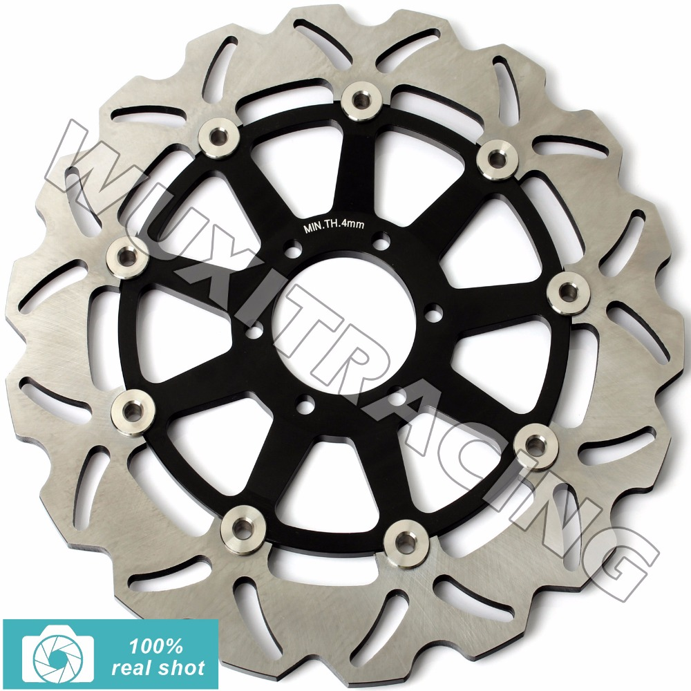 Front Brake Disc Rotor for DUCATI JUNIOR SS 350 91-93 M MONSTER 400 600 620 MULTISTRADA 94-06 SS SUPERSPORT 400 600 750 91-99 rear brake disc rotor for ducati junior ss 350 m monster 400 ss supersport 1992 1993 1994 1995 1996 1997 92 93 94 95 96 97