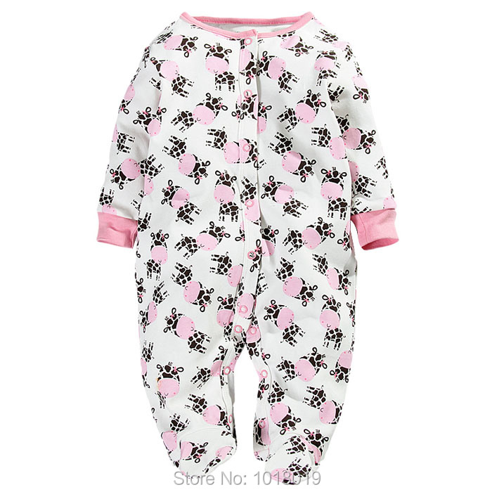 Branded Quality 100% Cotton Newborn Baby Girls Romper Baby Clothing Clothes Creeper Jumpsuits Ropa Bebe Long Sleeve Romper Girls cotton baby rompers set newborn clothes baby clothing boys girls cartoon jumpsuits long sleeve overalls coveralls autumn winter