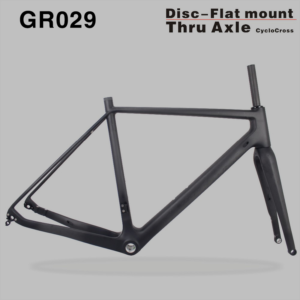 2017 SERAPH bikes Thru Axle 142mm Available Gravel 700C Carbon Bike Frame,Gravel Di2 Carbon Cyclocross Frame Disc GR029 hot sale chinese cyclocross frame carbon cx frame di2 disc brake carbon cyclocross bike frame cx535