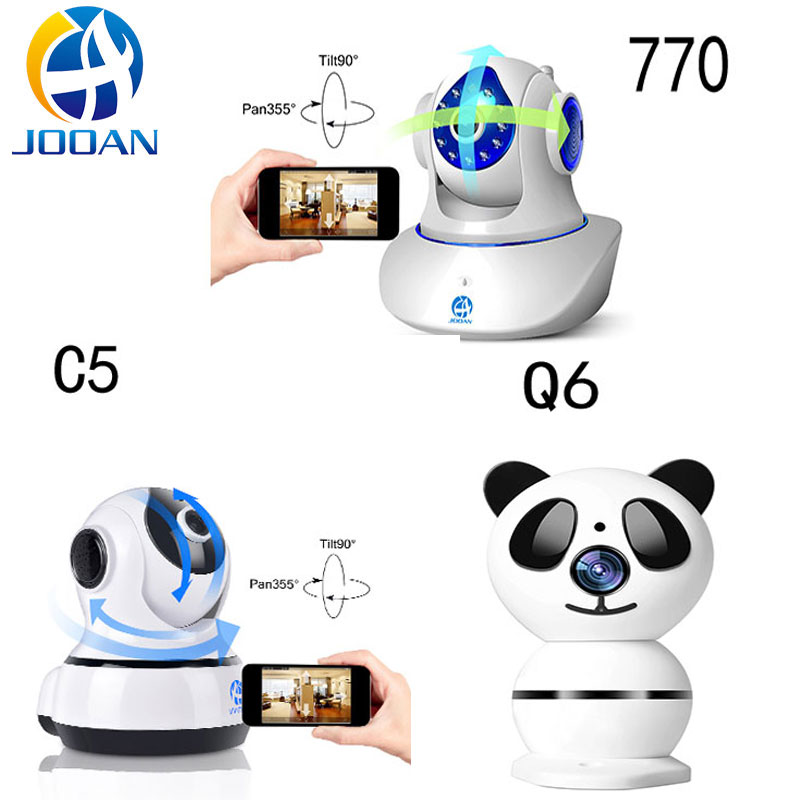 JOOAN Wireless IP Camera 720P HD smart WiFi Home Security Infrared Night Vision Video Surveillance CCTV Camera Baby Monitor jinage ip camera 720p wifi mini camera wireless infrared night vision cctv camera hd smart home security video motion detection