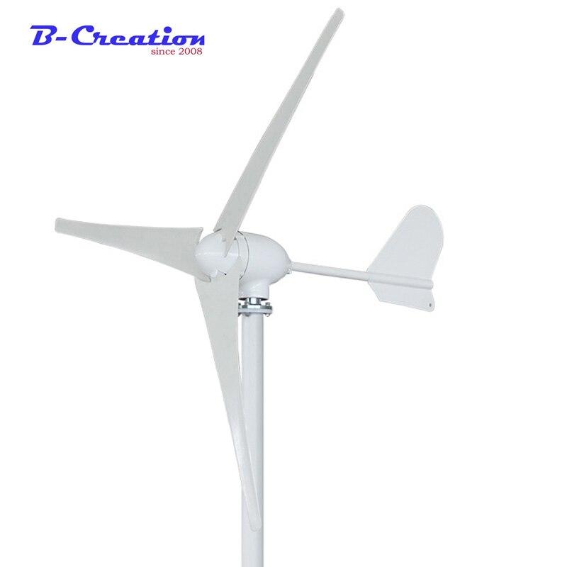 500W Max 600W Power 3 Blades 5 Blades Wind Turbine Generator Kit AC 12 24V Waterproof