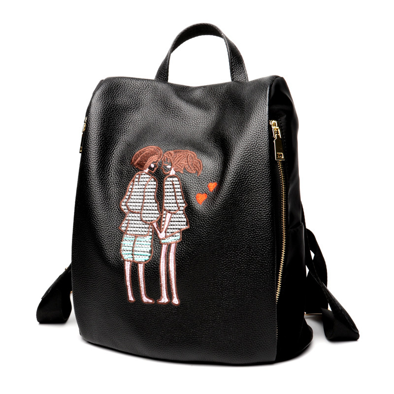 Bags For Women 2018 Female Students Backpack Fashion Casual Korean Backpacks Back Bag rdgguh backpack bag new of female backpack autumn and winter new students fashion casual korean backpack