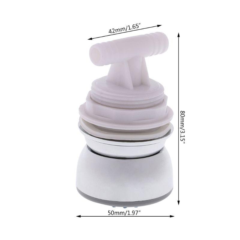 Bathroom Hydromassage Showerhead Water Saving Rotatable Body Back Massage Shower Nozzle W315