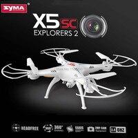 Venta (En stock) 100% Syma X5SC 4CH cuadricóptero de 6 ejes Original con modo sin cabeza de cámara de 2 MP