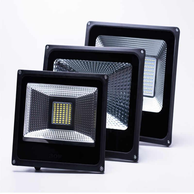 LED Flood Light 30W 50W 100W 150W 200W 300W 220V Floodlights searching Lamp IP65 Reflector foco led exterior Outdoor Spot Light
