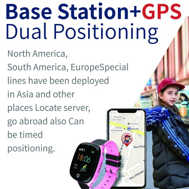 SK07 Anti Lost Child Watch GPS Tracker SOS Smart Monitoring Positioning Phone IP67 waterproof HW11 Kids GPS Watch PK Q528 Q90