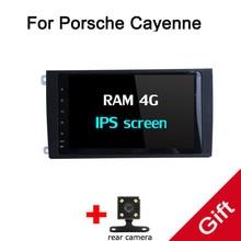 Восьмиядерный Android 8,0 px5/px3 Fit Porsche Cayenne dvd-плеер навигационная gps радио
