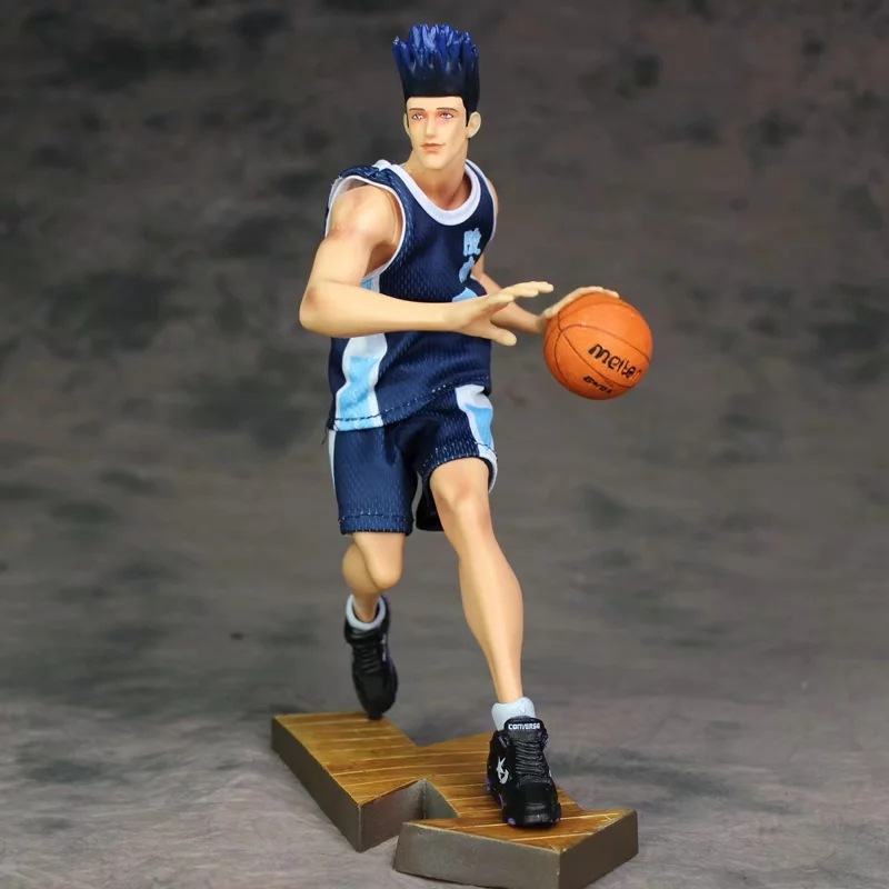 Slam Dunk Sendoh Akira model figrue action toy anime real clothes Ver. collectible figures painted giftSlam Dunk Sendoh Akira model figrue action toy anime real clothes Ver. collectible figures painted gift