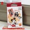 Fujifilm instax mini7s mini 8 pegatinas decoración pegatina para instax checky vigny historieta del gatito de mickey mini película (10 Hojas)