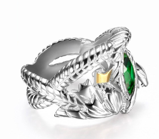 the lord of rings 925 sterling silver aragorn ring of