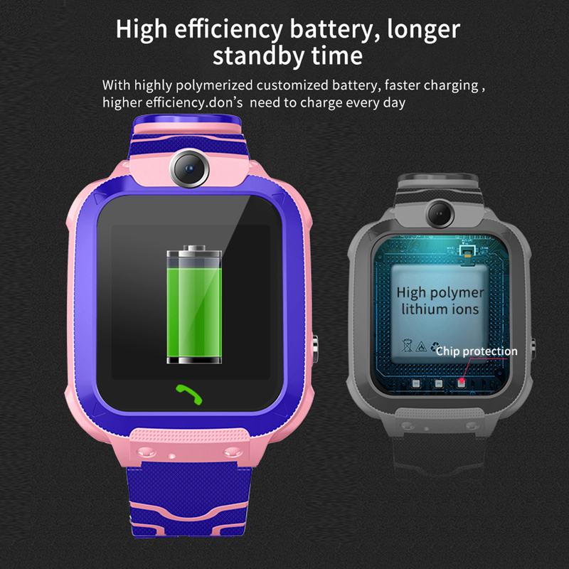 Image 5 - New IP67 Waterproof Children's Smart Watch Baby Watch LBS Positioning Tracker SOS Emergency Call Support SIM Card kids  Watch-in Smart Watches from Consumer Electronics