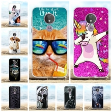For Motorola Moto G7 Power Cover Soft TPU Silicone Case Animal Patterned Shell Capa