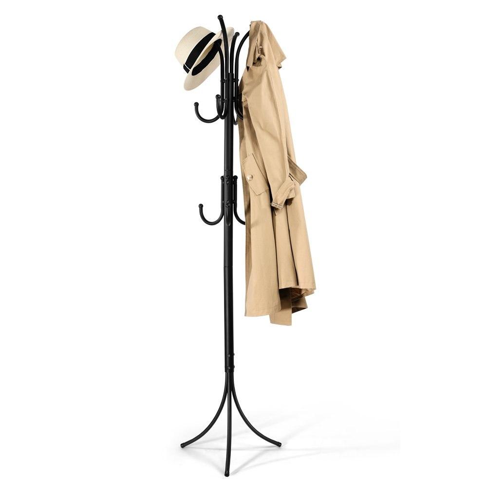 Porte-manteau en fer forgé pour chambre d'enfants pour suspendre les étagères à vêtements porte-manteau debout Z20