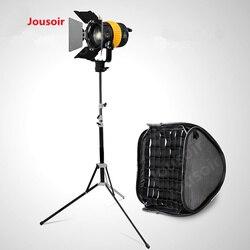 80W Led Light High CIR 5500/3200K+Bowen Speed Mount Softbox+2.1m Stand For Camera Video Studio  Light Kit CD15