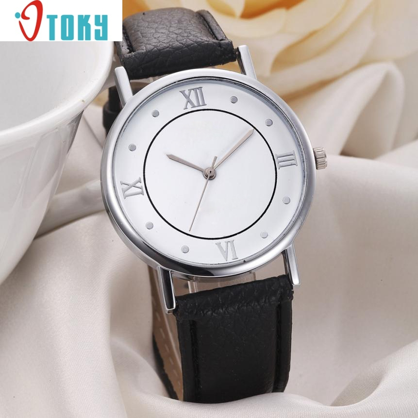 cheap wrist watch women Fashion Geneva Women Dial Leather Band Analog Quartz Watches Wrist Watches Ap8 Dropshipping new fashion women retro digital dial leather band quartz analog wrist watch watches wholesale 7055