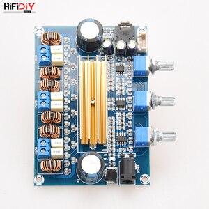 Image 4 - HIFIDIY VIVER A2.1 TPA3116 2.1 Carro Placa Amplificador Hi Fi Amplificador de Áudio Digital 50 w * TPA3116 2 + 100 w casa para a Coluna