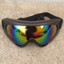Motorcycle Motocross ATV Dirt Bike Off Road Adult Goggles Glasses Eyewear Colorful Yellow Dark Brown Clear