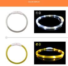 Rechargeable USB Flashing Night Dog Collars