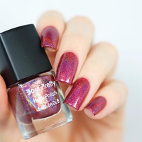 1pc 6ml Born Pretty Holographic Nail Polish Holo Glitter Nail Varnish Hologram Effect Nail Lacquer Color