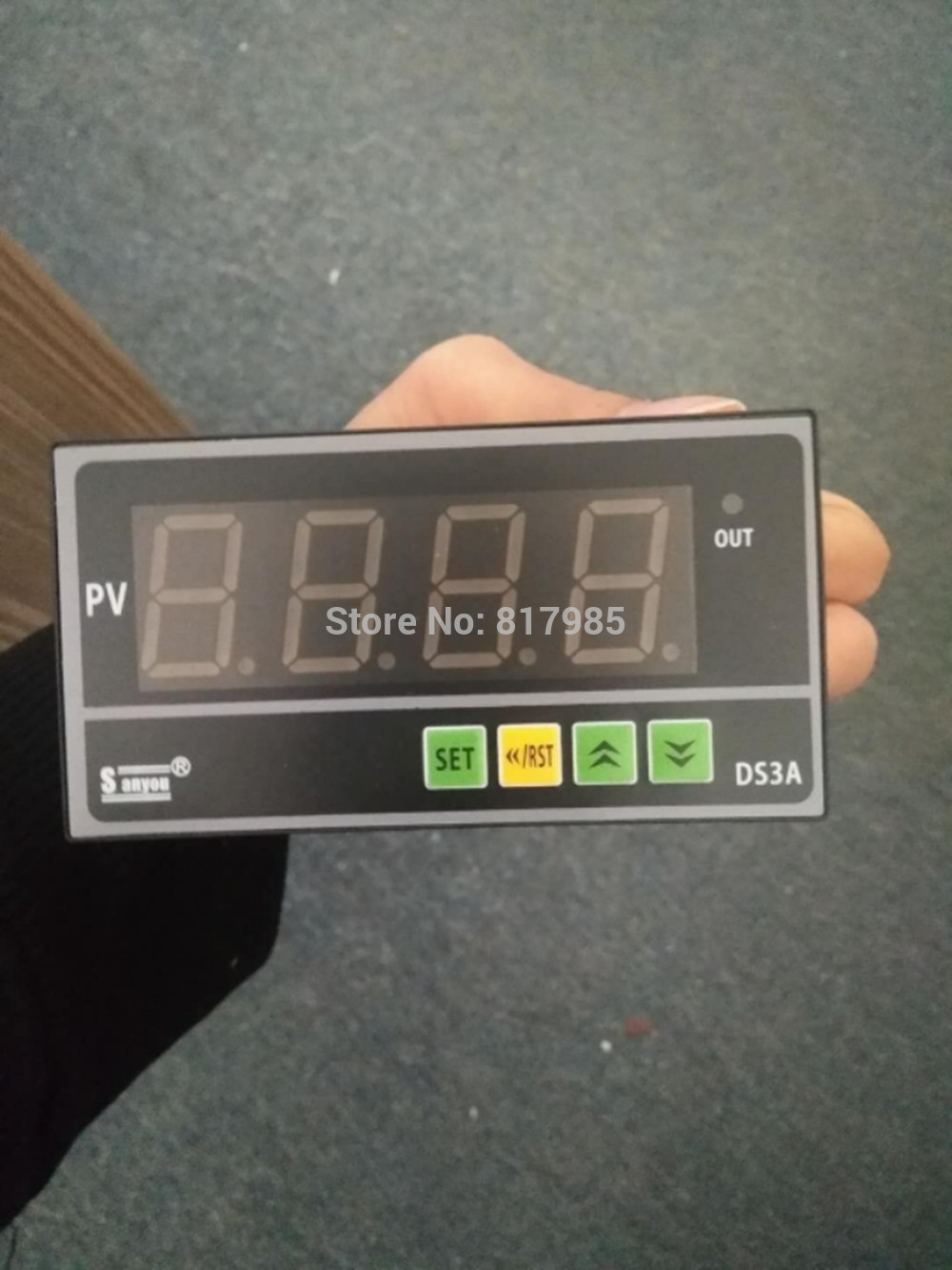 manual digital readout input 165 264vac tension controller output 24vdc 4a for paper converting and other industry machine simple dro one axis display single axis digital readout for injection machine and other machines