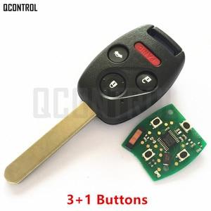 Image 5 - QCONTROL Car Remote Key Suit for Honda CE0891 HLIK 1T Accord Element Pilot CR V HR V Fit Insight City Jazz Odyssey Fleed 433MHz