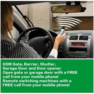 Image 5 - RTU5024 RTU5035 2G 3G GSM interruptor de relé de apertura de puerta, Control remoto de llamada, teléfono, Control de sacudida, abridor de puerta para sistemas de estacionamiento