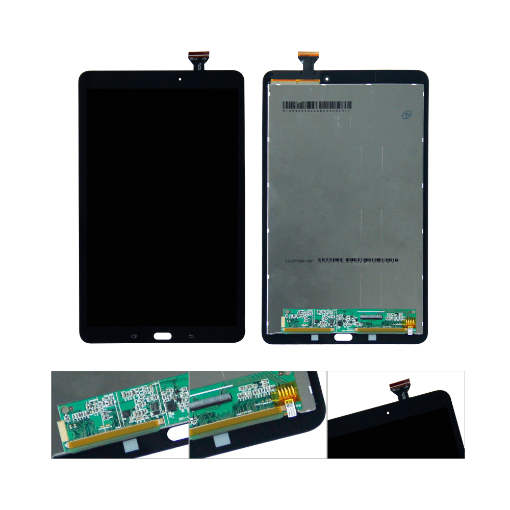 For Samsung Galaxy Tab E 9.6 SM-T560 T560 SM-T561 LCD Display Touch Screen Digitizer Assembly Replacement планшет samsung galaxy tab tab e sm t561 8gb white sm t561nzwaser