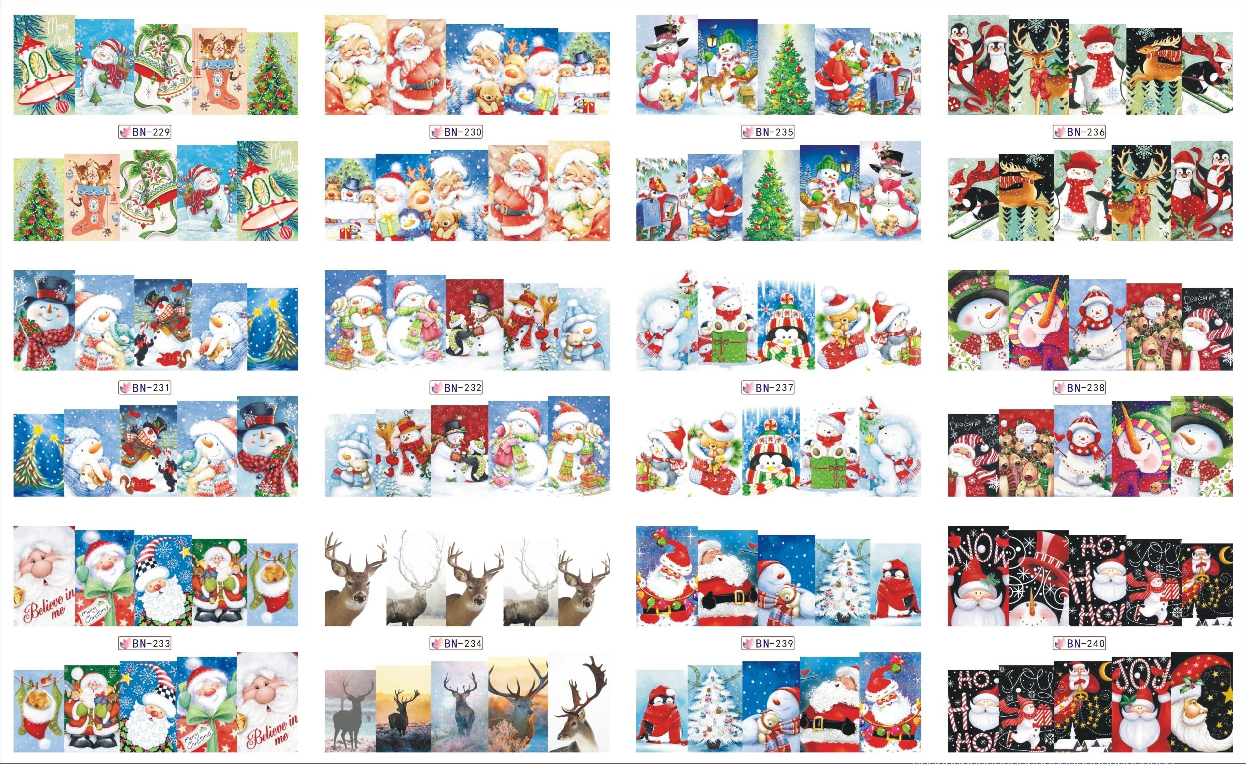 Aliexpresscom Buy 12 Sheets Lot Nail Bn229 240 Snow