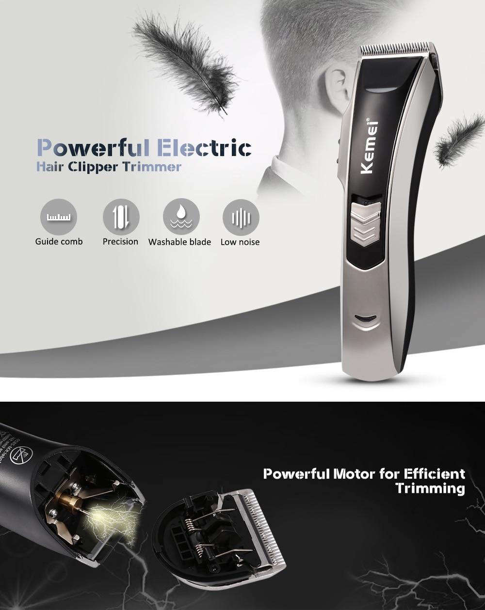 Kemei Km 2820 Professional Hair Clipper Trimmer Beard Electric Razor