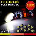 Car-Styling 20pcs 12V Interior LED T10 Car Light Source COB W5W Wedge Door Instrument Side Dome Dash Board Bulb Lamp