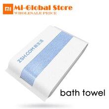 Xiaomi зш Для ванной Полотенца 580 г антибактериальные нет-раздражающим 100% хлопок Полотенца 1.6 s сильное поглощение воды 700 мм * 1400 мм 5 видов цветов