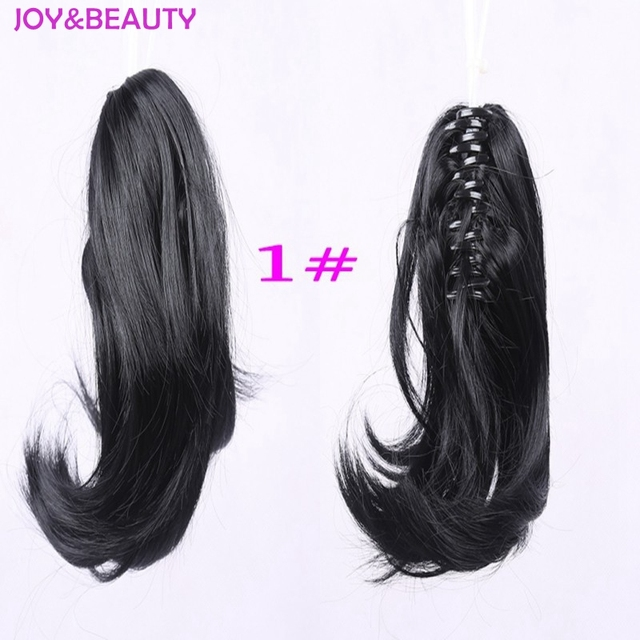 12″ Synthetic Ponytails Clip-in Hair