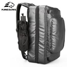 Купить с кэшбэком Kingsons New Men's Travel Bags hand luggage Large Capacity Totes Multifunctional Duffle Bags for Male Short Business Trip