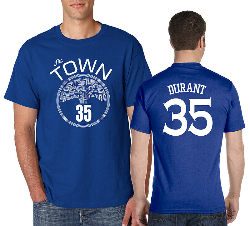 THE TOWN KEVIN <font><b>KD</b></font> DURANT T-<font><b>Shirt</b></font> Basketball Rinspun Cotton Tee image
