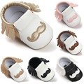 PU Leather Newborn Baby Boy Girl Baby Soft Moccs Shoes Bebe Fringe Soft Soled Non-slip Footwear Crib Shoes First Walker