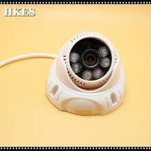AHD Camera 1080P 2 0 Megapixel 2000TVL Night Vision 3 6mm Indoor 6 IR LEDs Day