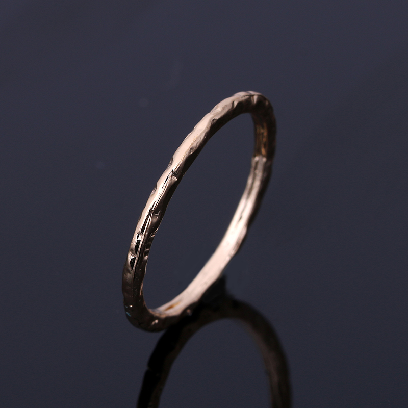 Nj2015 Geometric Simple Round Gold Fashion Womens Ring Wedding Ring Jewelry Womens Engagement Ring Jewelry Beautiful Female