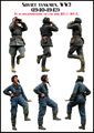 Resin Kits  1/35  Scale soviet  investigation soldier   Resin Model Free Shipping