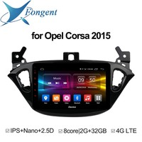 for Opel Corsa 2015 Car Intelligent System Automibile Radio Audio DVD Stereo Multimedia Player GPS Navigator Smart Pad Computer