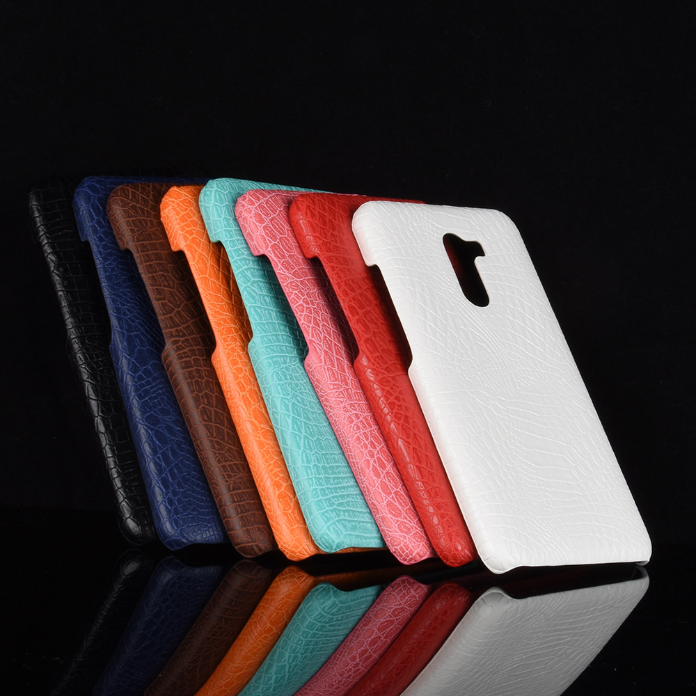 For Xiaomi Poco F1 Luxury PU Leather Back Phone Case For Xiaomi Poco F1 Back Cover Case