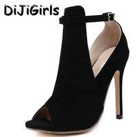Milan Runway Celebrity Wearing High Heels Women Stilettos Pumps Gladiator Buckle High Heel Sandals Fashion Party