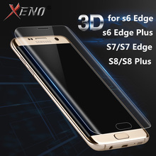 For Samsung Galaxy S7 Edge S6 S8 Plus Screen Protector Toughed Pet Film Full Cover (Not Tempered Glass)3D Curved Round