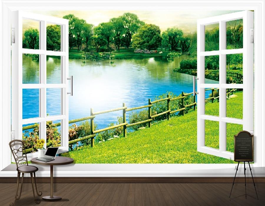 3d Stereoscopic Mural Wallpaper Custom Environmental 3d Stereoscopic Large Mural Fabric