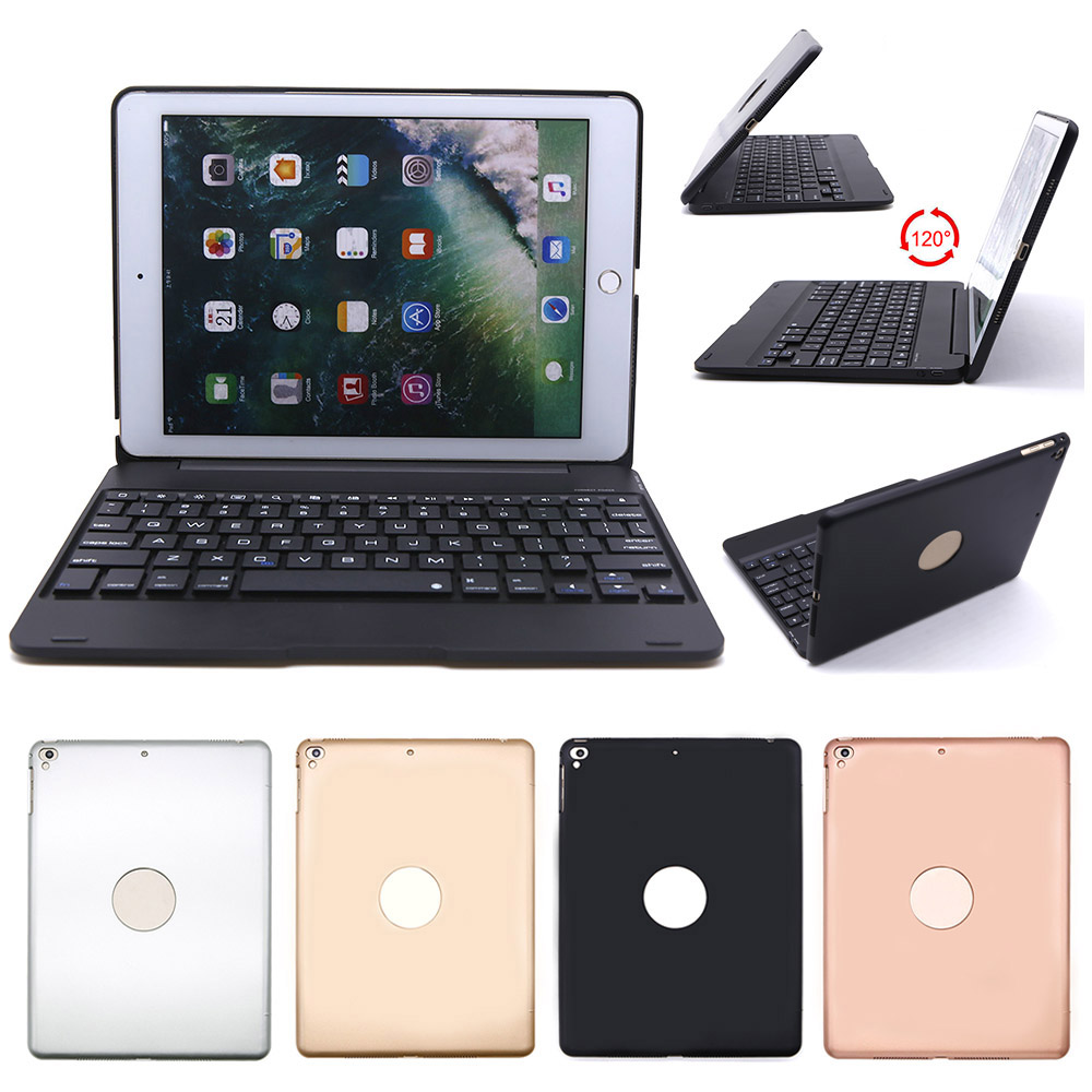 91cf30921 Bluetooth Keyboard Case for New iPad 9.7 2017 2018 Air 2 Air 1 Pro 9.7 inch  Tablet Protective Case Wireless Keypad Stand Cover