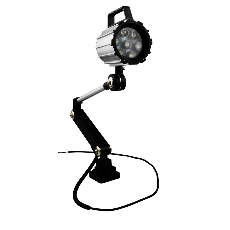 Led Machine Lights,Industrial Lighting 7W/12W IP68 Adjustable LED Work Light for Lathe,CNC Milling,Drilling Machine-Long Arm