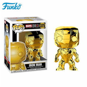 Image 2 - Offical FUNKO POP Marvel The 10th Anniversary Black Panther Iron Man Loki Groot Vinyl Doll Action & Figure Toy Birthday Gift