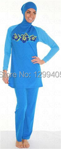 b8ce1cd91c Al-Sharifa Women s Full Coverage Modest Swimsuit Hijab Hooded Islamic  Swimwear
