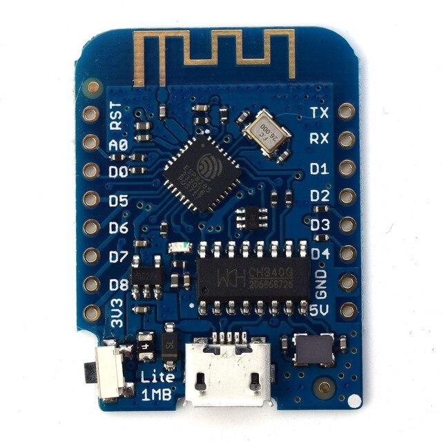 Wemos D1 Мини Lite v1.0.0-Wi-Fi Интернет вещей Совет по развитию основе esp8285 1 МБ flash