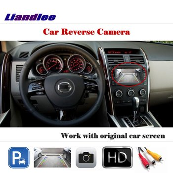Liandlee AUTO CAM For Mazda CX-9 CX9 2007~2014 / Back Up Camera Rearview Reverse Parking Work with Car Factory Screen
